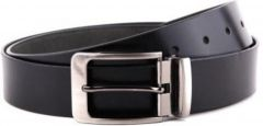 Ruchiworld Boys, Men Formal Black Genuine Leather Belt (multicolor)