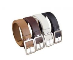 Leatherite Belt For Men - Pack Of 4