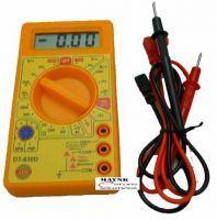 Digital Organisers - Digital LCD Multimeter Ac Dc Voltage Current Transistor Diode