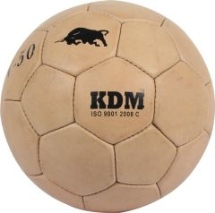 KDM Sports V 50 Football - Size 5, Diameter 22 cm (Pack of 1, Beige)