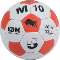 KDM Sports M 10 Football - Size 5, Diameter 22 cm (Pack of 1, Multicolor)