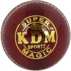 KDM Sports Magic Cricket Ball - Size 3, Diameter 7 cm (Pack of 1, Maroon)