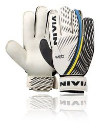 Nivia Web Football Gloves For Playing Football And Soccer