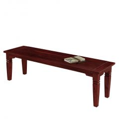 Home Decor & Furnishing - Inhouz Sheesham Wood Sonu Bench (Mahogany Finish)