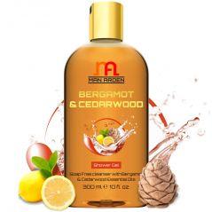 Man Arden Bergamot & Cedarwood Luxury Shower Gel - Bergamot & Cedarwood Essential Oils Body Wash - 300 ml