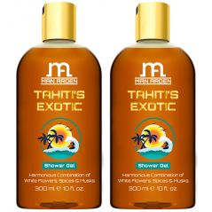 Man Arden Tahitis Exotic Luxury Shower Gel Body Wash - 300 ml - Pack Of 2