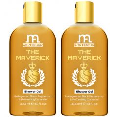 Man Arden The Maverick Luxury Shower Gel Body Wash  - 300 ml - Pack Of 2