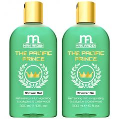 Man Arden The Pacific Prince Luxury Shower Gel Body Wash - 300 ml - Pack Of 2
