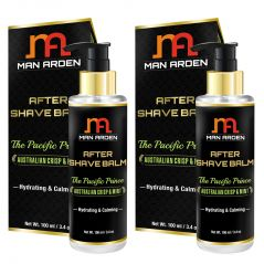 Man Arden After Shave Balm - The Pacific Prince - Hydrating & Calming 100ml - Pack Of 2