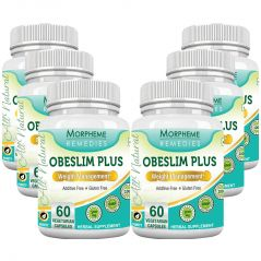 Morpheme Obeslim Plus 500mg Extract 60 Veg Caps - 6 Bottles