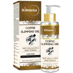 St.Botanica 4D Coffee Slimming Cream - AntiCellulite & Skin Toning 100ml (With Guarana Oil)