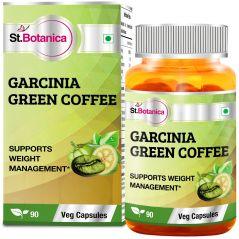 St.Botanica Garcinia Green Coffee Bean Extract - 90 Veg Caps