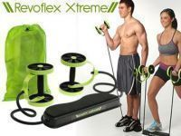 Gym Equipment - Revoflex Xtreme Ultimate Excercise All In One Portable Home Gym Abs Machine