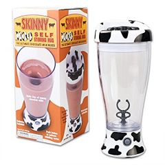 Skinny Self Stirring Mug cold coffee shake maker