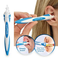 Gift Or Buy Smart Swab Removal Tool  Soft Spiral Cleaner(new Ear Wax Vac)