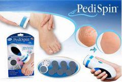 PediSpin Professional Callus, Dead  Dry Skin Remover. Foot Pedicure
