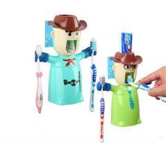 Warrior Toothpaste Dispenser