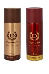 Deodorants (Unisex) - Denver Hamilton Prestige   Honour Deodorant Body Spray ( Pack Of 2 ) - An187