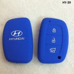 Key covers for cars and bikes - SFK Silicone Key Cover for Hyundai Creta, i20 elite / Active, Grand i10, New Verna, Xcent Smart Key (for Push Button start only)