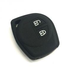 Autostark Car Remote Key Cover Silicone Black For Suzuki 2 Button Sx4 (black)