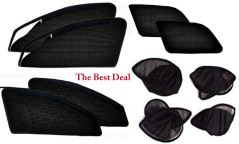 The Best Deal Zipper & Magnetic Foldable Car Sun Shades/ Curtain for Honda CR-V NEW -Set of 6