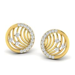 Diamond Earrings - The Liri Circular Earring NS101-ER-AFP00157