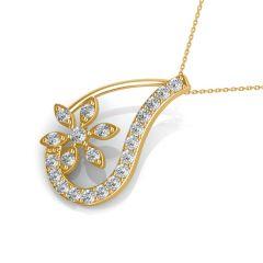 Diamond Jewellery - The Cathy Floral Pendant NS101-PN406