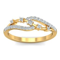 Diamond Jewellery - The Rania Ring NS101-LRG-RN3464