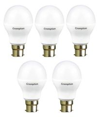 Led bulbs - Crompton 9WDF B22 9-Watt LED Lamp (Cool Day Light and Pack of 5)