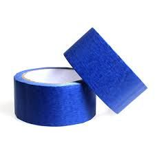 "#3 Pcs ""BLUE BOPP Tape ""65 Met. X 2"" Wide Safe Packing-TA05"