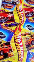 Gift wrap papers - #10 Pcs HOT WHEELS CAR Gift Wrap Paper Sheets(50x70 Cms) Birthday Packing -RG488