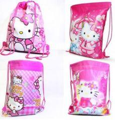 Gift covers - # 12 Pcs HELLO KITTY Kids Pithu Bag Tution etc Best Birthday Return Gift -RG309