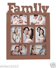 Photo Frames - Archies Family collage Photo Frame for 7 pics best home Dcor gift-PH382