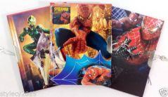 Birthday Gifts For Kids - #4 Pcs Spiderman -Kids Secret Lock Diaries -2 Keys Birthday Return Gift- RG362