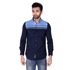 Mercury Men's Wear - Mercury Men's Dobby Cotton Casual  Shirt J-573-A