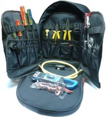 Air conditioner accessories - Mighty Mounts HVAC Professional Heavy Duty Tool Bag with Standard Tools