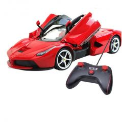FERRARI LOMBARGHI STYLE REMOTE CONTROL CAR WITH OPENING AND CLOSING DOORS
