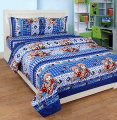 Bed Sheets - 3d King size designer bedsheet (3dkb009)