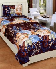 Bed Sheets - 3D Polycotton Single Bedsheet (3dsb302)