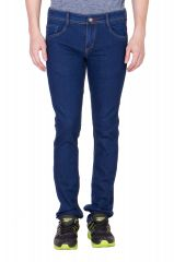 Jeans (Men's) - maxxone Dark Blue Relaxed men's jeans-MX00202009