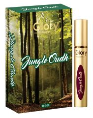 iGlory Roll On Fragrances' Alcohol Free Pure Scents - JUNGLE OUDH - 10ml
