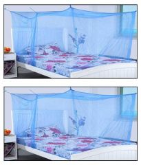 Baby mosquito nets - Shahji Creation Blue Polyester Mosquito Net Buy One Get One