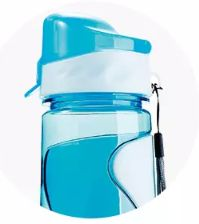 PLASTIC WATER BOTTLE 630ml