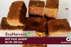 Salt, Sugar, Honey, Jaggery - Ecoharvest DatePalm Jaggery (500gx2)