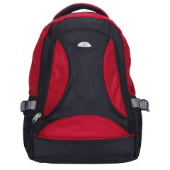 "Kara Black and Red Color 15"" Laptop Backpack"