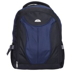 "Kara Black and Blue Color 15"" Laptop Backpack"