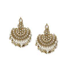 Tipsyfly Alloy Push back Mumtaz Earrings Drop Earring for women_1035E