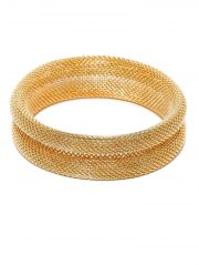 Tipsyfly Western Laurel Mesh Bangle For Women-146OB