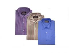 Pack Of 3 Formal Shirts