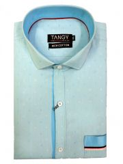 Blue Designer Shirt